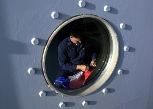 ship porthole man