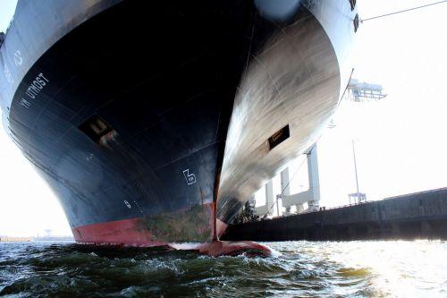 laivas, konteinerių laivas, uosto, tas pats, Hamburg, konteineris, Pristatymas, krovininis laivas, upė, vandens, Landungsbrücken, krovininis laivas