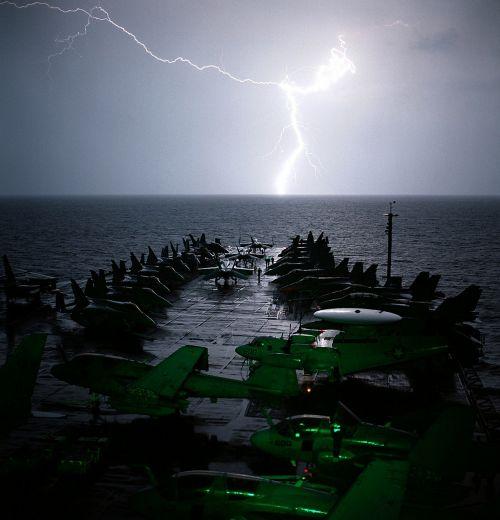 ship aircraft carrier planes