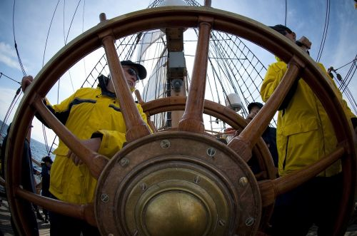 ship wheel helm