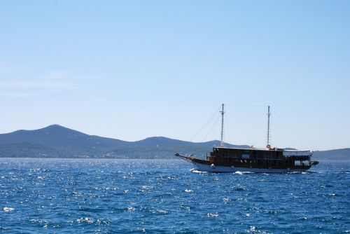 Ship At Adriatic Sea