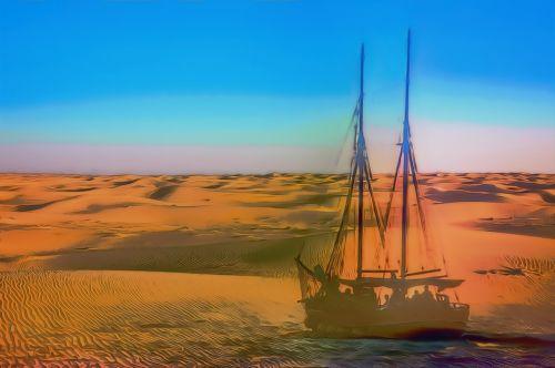 ship in the desert ghost ship desert