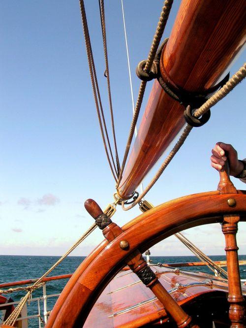 ship rudder sørlandet sailing vessel
