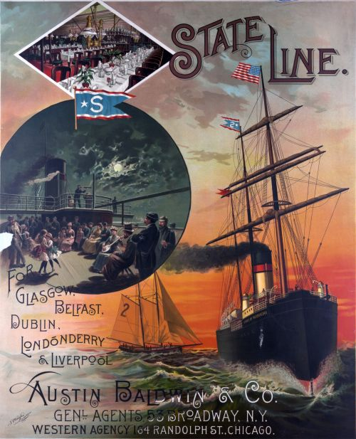 Ship State Line Advertisement