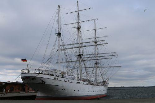 shipping sailing vessel stralsund