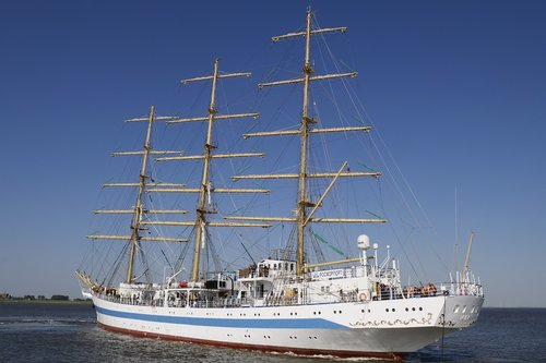 shipping  sail training ship  sailing vessel