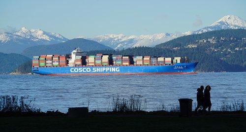 shipping  british columbia  canada