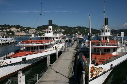 ships steam ships lake lucerne region