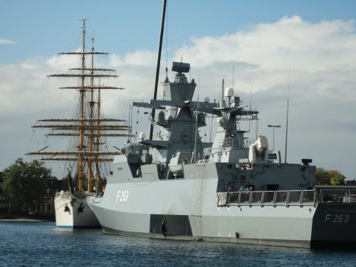 ships kiel baltic sea