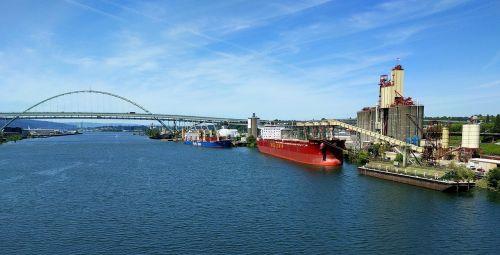 ships river transportation