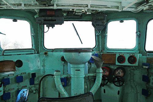 Ship's Wheelhouse Interior