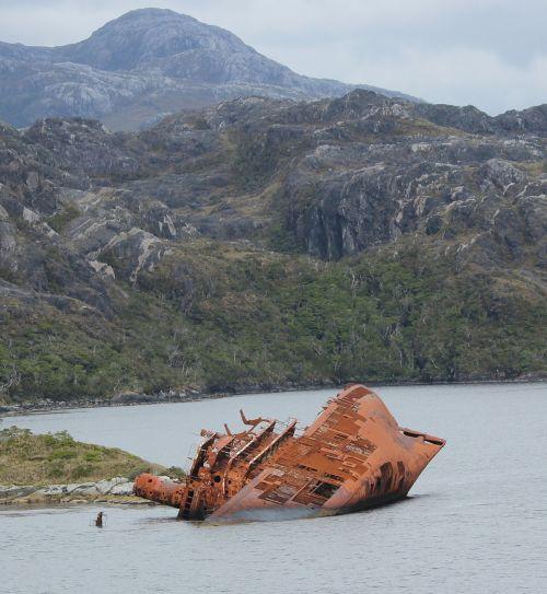shipwreck chile south america
