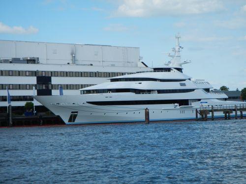 shipyard yacht ship