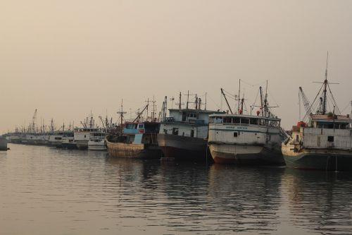 shipyard ship dock