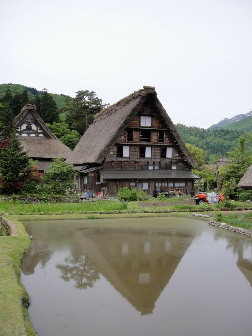 shirakawa xiang gassho village northern continental