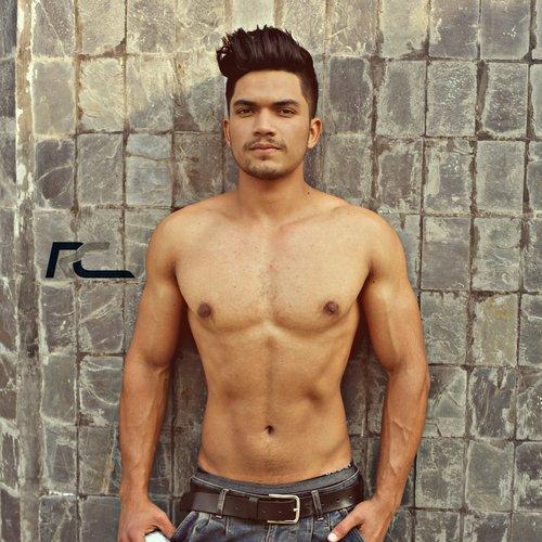 shirtless  man  adult