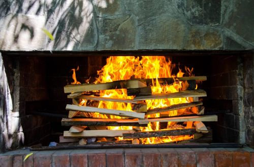 shish kebab fire bbq