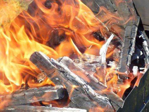 shish kebab summer fire