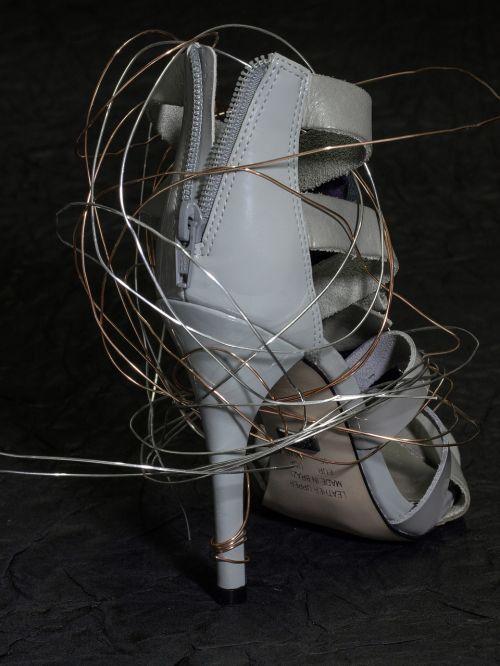 shoe women's shoes high heeled shoe