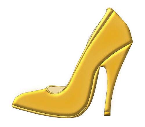 shoe high heeled shoe stack-heel shoe