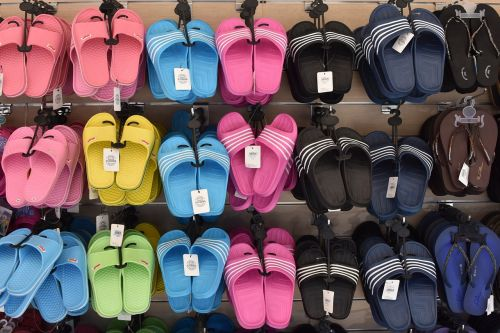 shoe slippers colors
