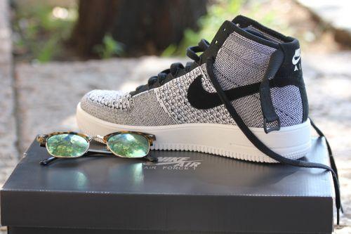 shoe sneaker glasses