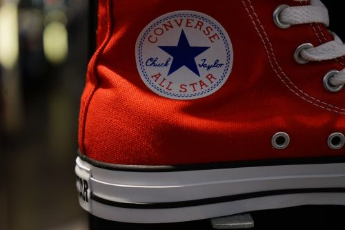 shoe sneaker red