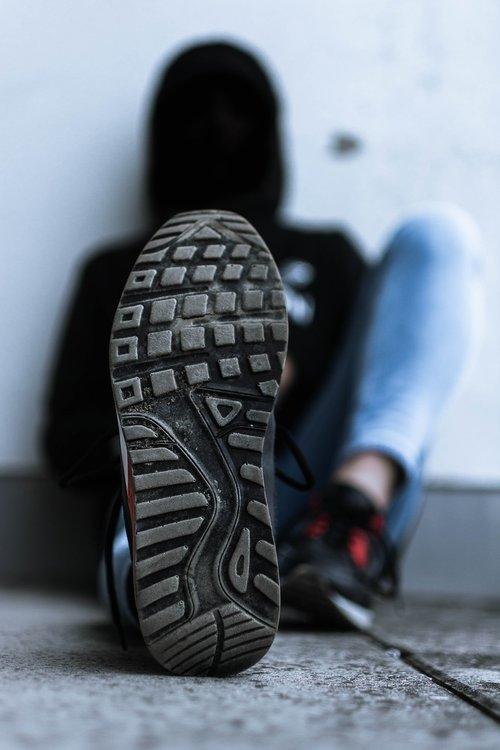 shoe  sole  dirt