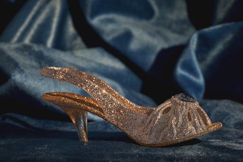 shoe  glitter  women's shoes