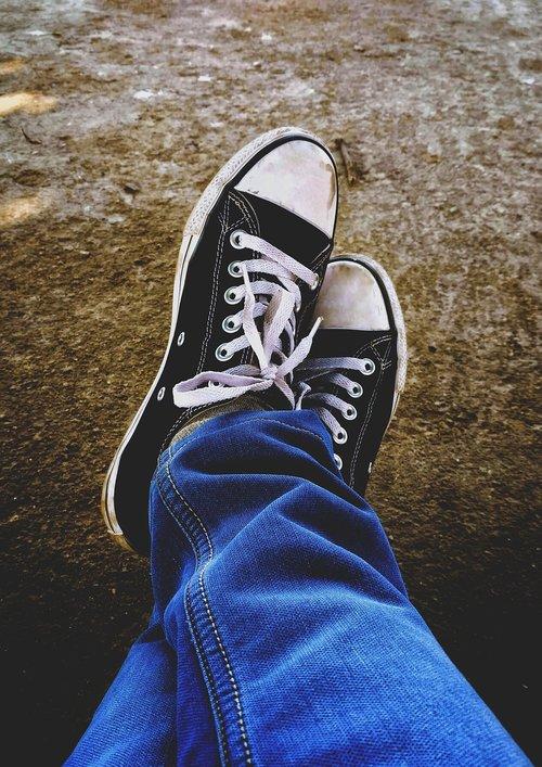 shoe  converse  jeans
