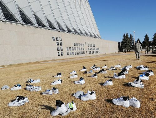 shoes building air force academy
