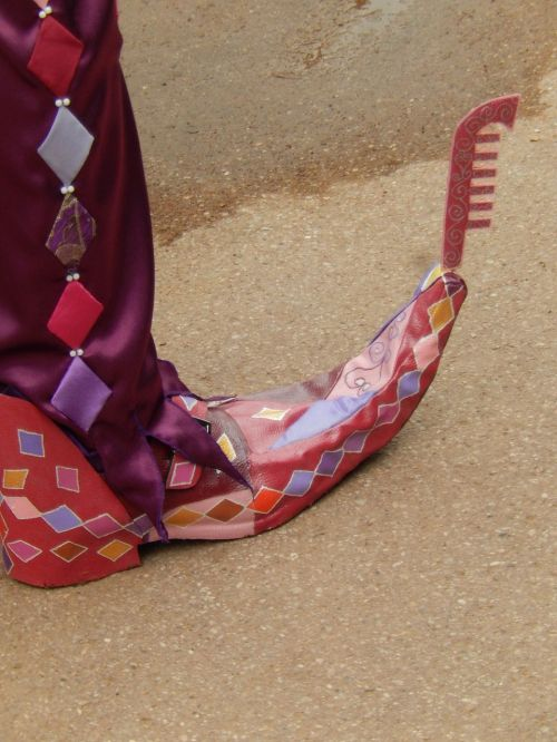 shoes disguise colors