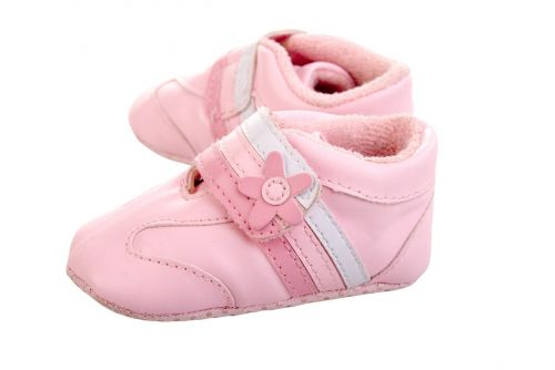 shoes pink child