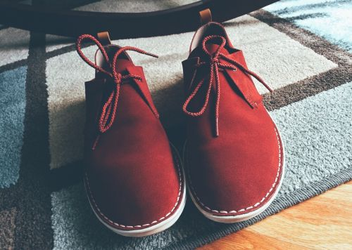shoes red fashion