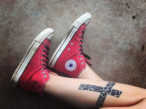 shoes converse tattoos