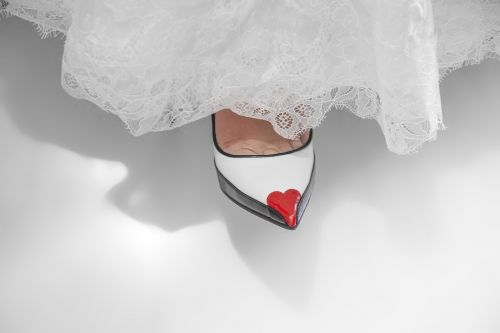 shoes woman bride