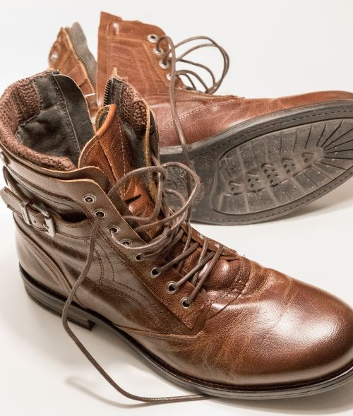 shoes leather brown