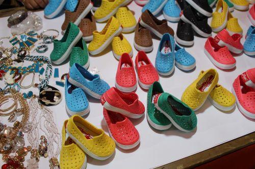 shoes diversity colors