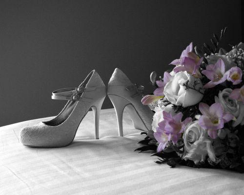 shoes wedding bridal
