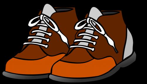 shoes clip art loop