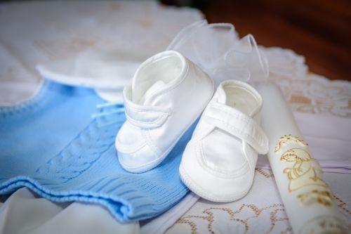 shoes baptism ceremony