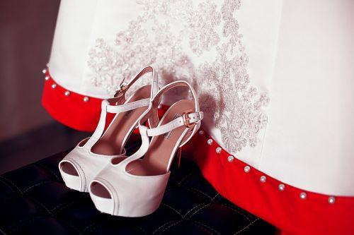 shoes wedding dress wedding