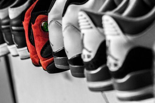 shoes footwear display