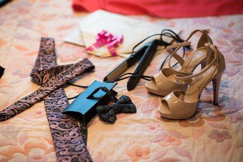 shoes  tie  bow tie