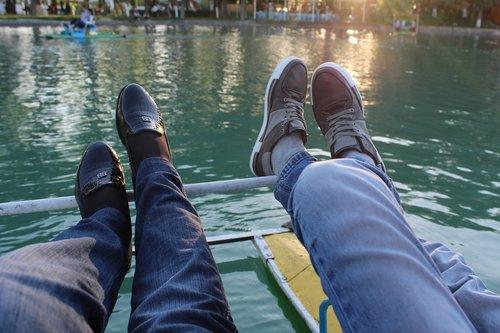 shoes  legs  couple