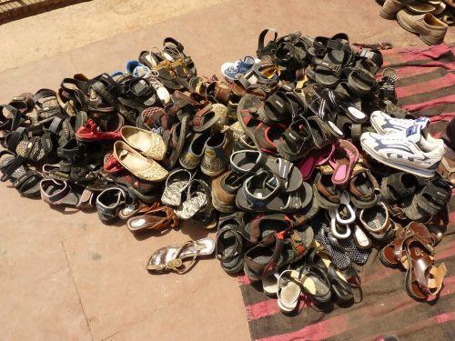 shoes sandals mosque
