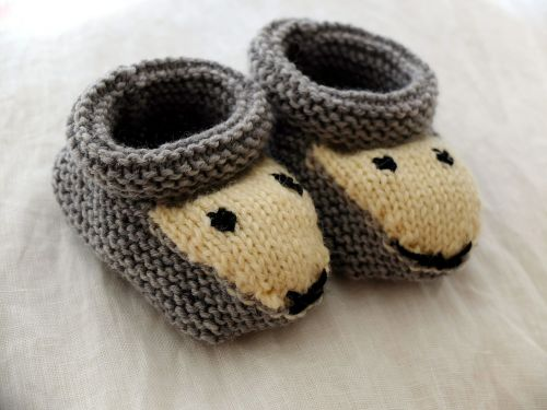 shoes baby knitt