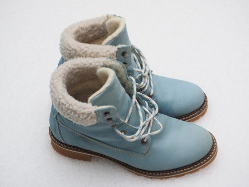 shoes winter boots leather boots