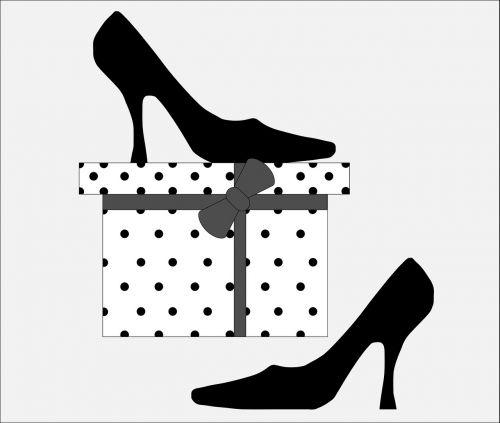 shoes black fashion