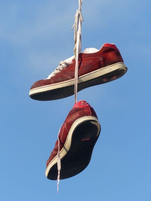 shoes depend leash